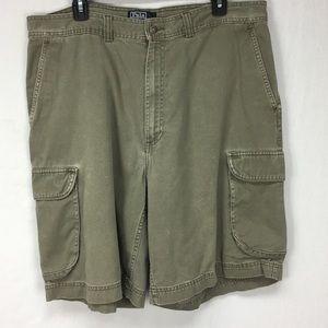 Polo Ralph Lauren Olive Green Cargo Shorts